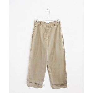 Stelen Need Supply Khaki Wide Leg Cuffed Pants M